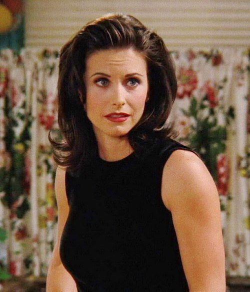 Courteney Cox 90's hair (Monica Geller. Friends) | Misc ...