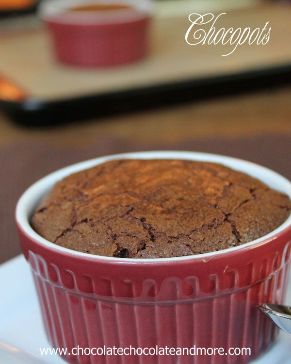 Chocopots-crispy shell surrounding a delicious molten center