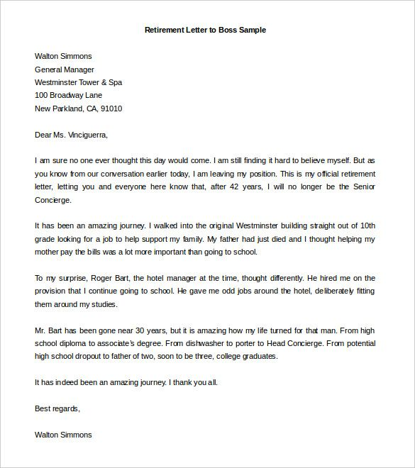 Best 25+ Resignation template ideas on Pinterest Resignation - retirement letters