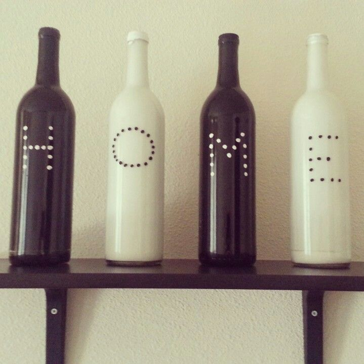 diy wine bottle decor art pinterest diy wine bottle