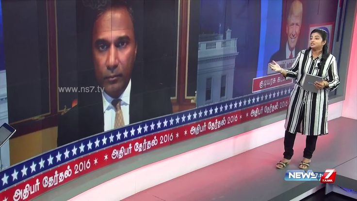 My interview to Tamil TV channel News 7 on the morning of US Election Counting Day. So glad my prediction came true!