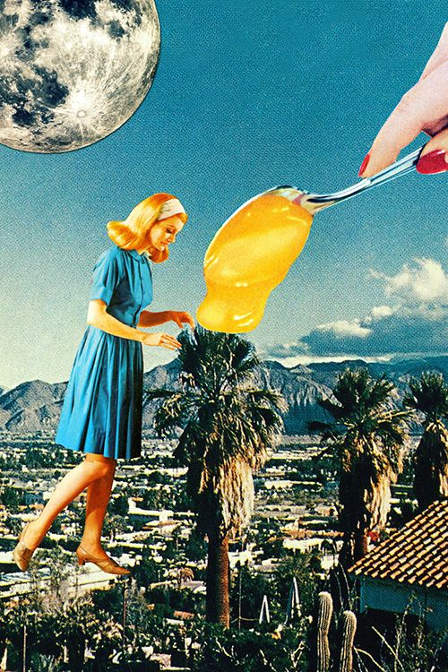 204 best collage art images on Pinterest | Surrealism, Universe and ...