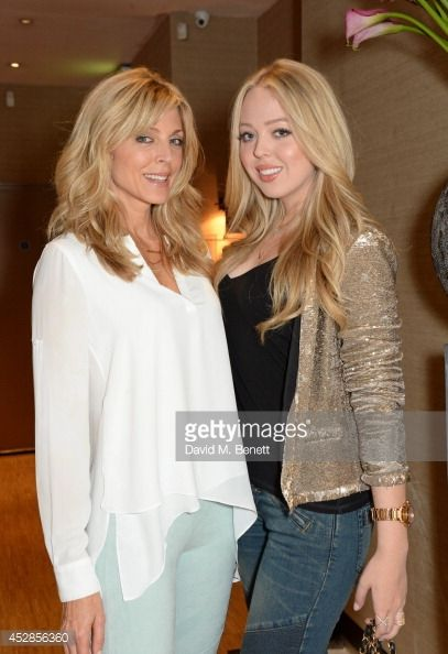 trump dinner | Marla Maples and Tiffany Trump have dinner at Sumosan on July 28 2014 ...