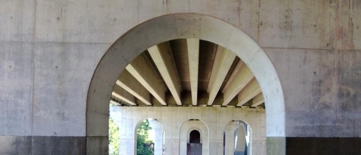 There weren't any trolls under this bridge.