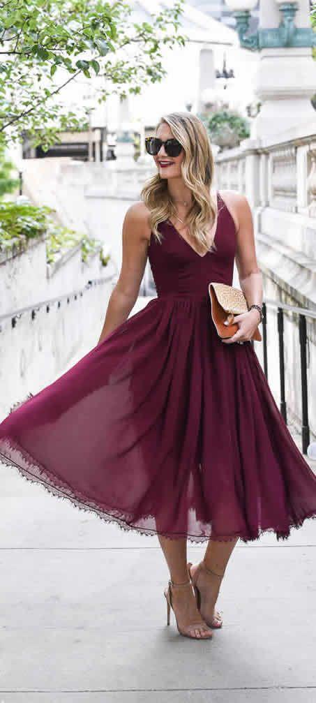 What to Wear to a Fall Wedding - 20 Fall Wedding Dress Ideas