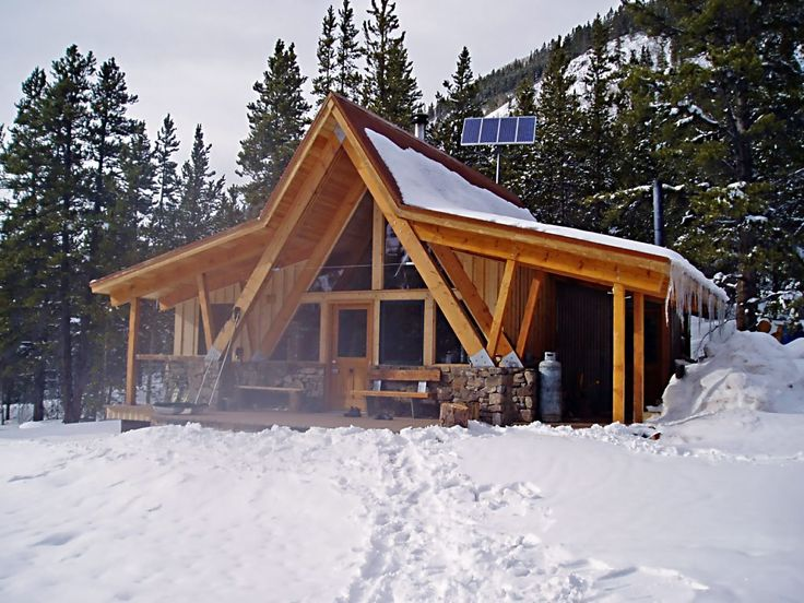 17 best images about a frame additions on pinterest barn for Log cabin additions ideas