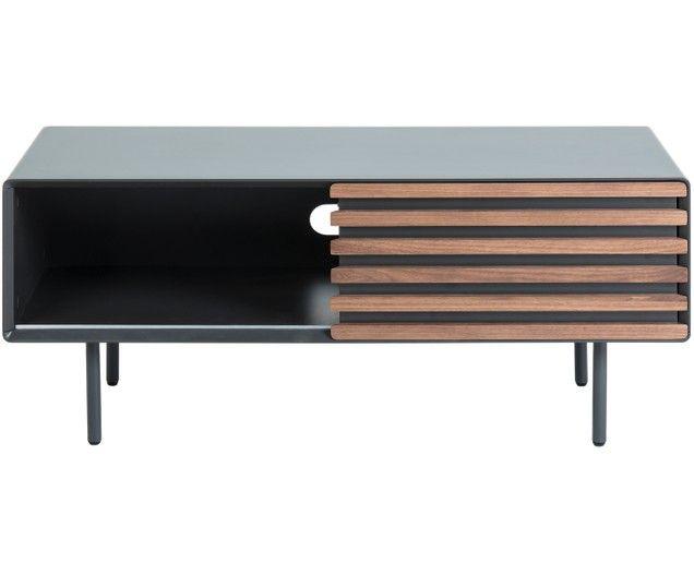 Tv Lowboard Kesia Mit Schiebetur In 2019 Home Deco Flat Screen