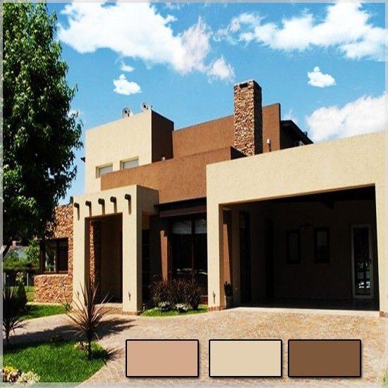 Pintura casa moderna fachadas de casas sencillas de pisos for Pintura casa moderna
