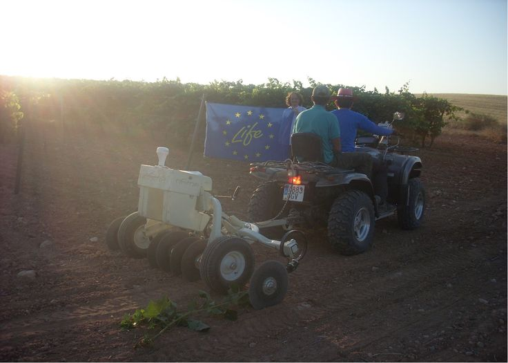 Vinos de Uclés apuesta por una vendimia sostenible utilizando algas para reducir los gases de efecto invernadero en la producción del vino