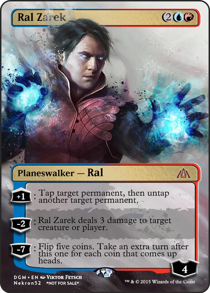 Ral Zarek | MTG Card Proxies | Pinterest | Magic cards and ...