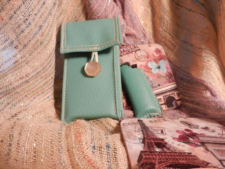cigarette handmade case and lighter case*