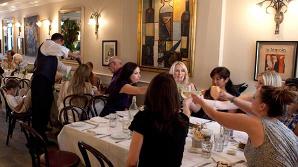 Bistro Chat Noir is every Francophile's dream spot for ringing in the New Year, located in the Upper East Side