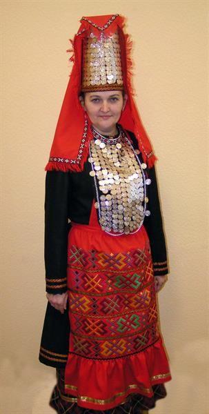 Национальный костюм южных удмуртов