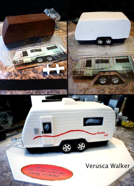 Caravan step-by step by Verusca.deviantart.com: