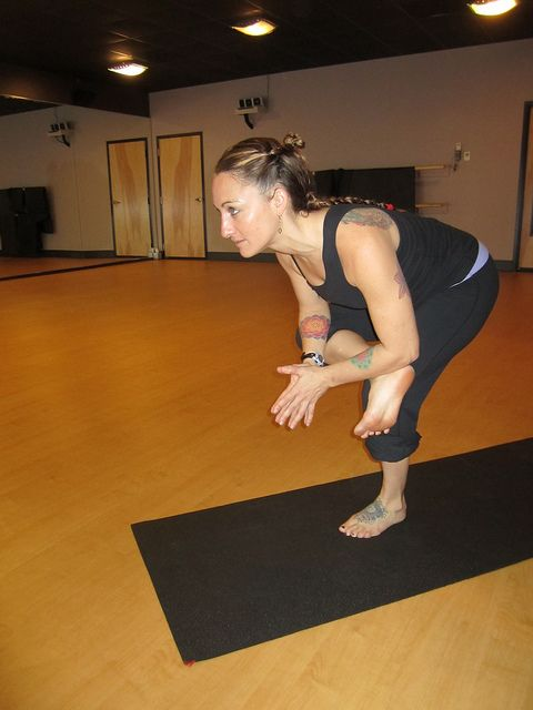 hip flexor stress from lunges
