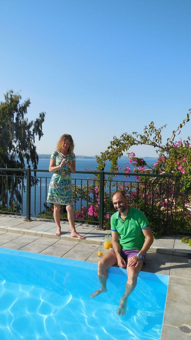 Panorama Pool - Myreen & Giorgios — at Zakinthos.