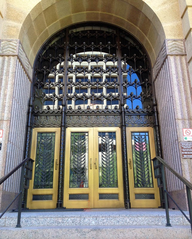 Colletti Design   Maricopa County Court House Phoenix  AZ  Huge Iron Entry  Door 55 best Iron Doors images on Pinterest   Entry doors  Wrought iron  . Exterior Doors Phoenix Az. Home Design Ideas