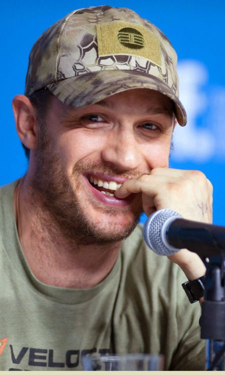 """tomhardyvariations: """" Aw, he's such a lovely poppet. """"The Drop"""" Press Conference 