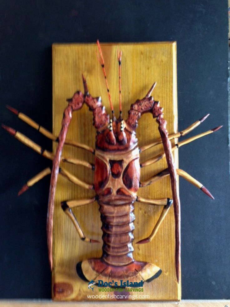 Name: Florida Lobster Price: $244.00 Description: Dimensions: 12″ x 23″. Shipping included.
