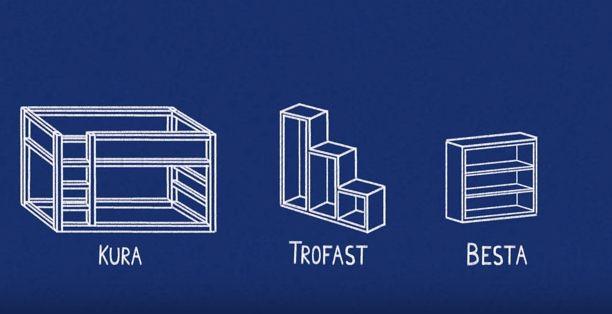 Handwerker-Vater verwandelt IKEA-Teile in ein Bett für sein Kind! Mit Geheimversteck und Rutsche! - DIY Bastelideen