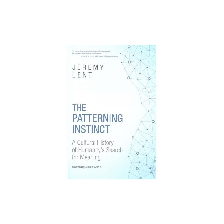 Patterning Instinct : A Cultural History of Humanity's Search for Meaning (Hardcover) (Jeremy R. Lent)