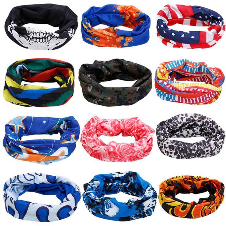 Magic bandana 2016 scarf hair headband bicycles seamless magic Scarves women multifunctional men Riding Hood Magic Snowboard #jewelry, #women, #men, #hats, #watches, #belts