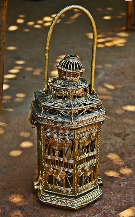 Gifts---Products---Advaita---Dhokra-lantern