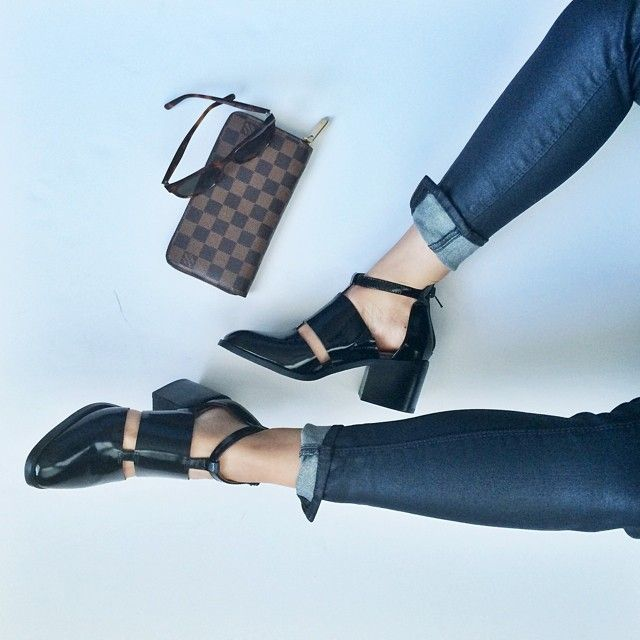Tiffany in the Jeffrey Campbell Melina Cutout Boot || Get the boots: http://www.nastygal.com/product/melina-cutout-boot?utm_source=pinterest&utm_medium=smm&utm_term=ngdib&utm_content=omg_shoes&utm_campaign=pinterest_nastygal
