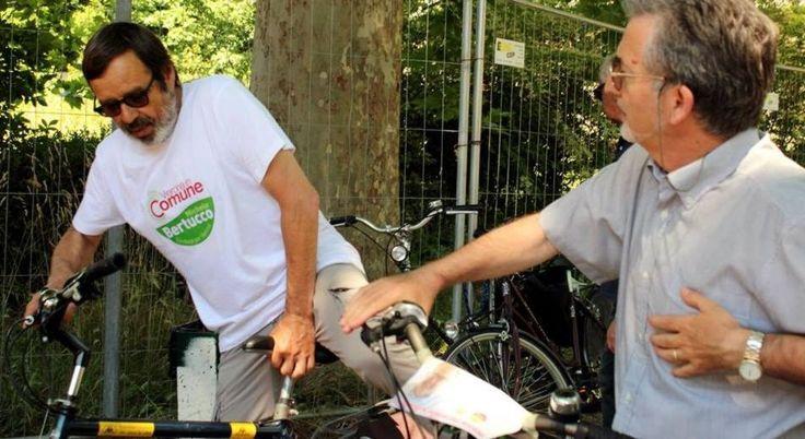 #Bike #Tour #cittadiverona Michele Bertucco Sindaco per #Verona #votabertucco2017 #Amministrative2017 #VeronaInComune #BertuccoSindaco