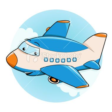 17 Best images about Cartoon Airplanes on Pinterest | Blank banner ...