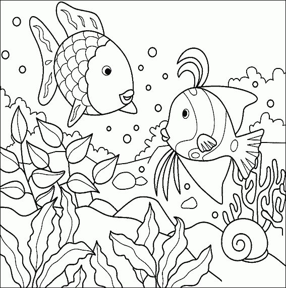 Tropical Fish In The Ocean Free Printable Coloring Pages 25 Unique Ideas On Animals