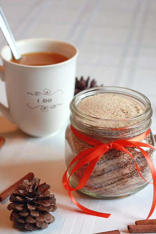 Russian Tea (love this)  Adapted from: Family Recipe  1 cup powdered Tang  1/2 cup powdered lemonade (such as Country Time)  1/4 cup unsweetened instant tea  1/4 cup sugar  1/4 heaping teaspoon ground cloves  1/2 heaping teaspoon ground cinnamon