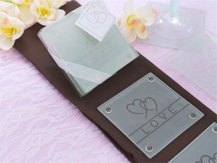 """Size: 3"""" square<br >Price includes: 4 coasters packaged in gift box, ribbon, & thank you card."""