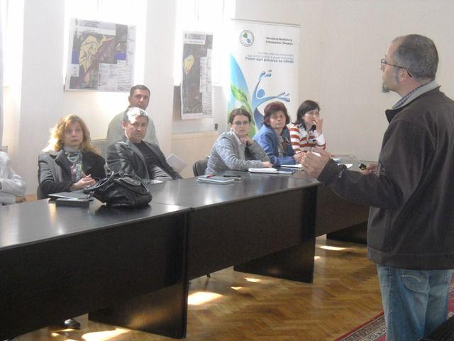 GEOAGIU județul HUNEDOARA – Seminar local pentru formare de formatori, educație ecologică