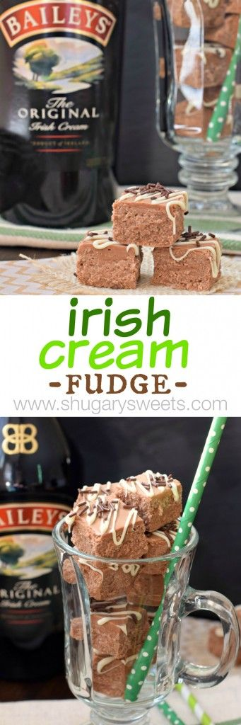 Irish Cream Fudge: a boozy treat for adults!