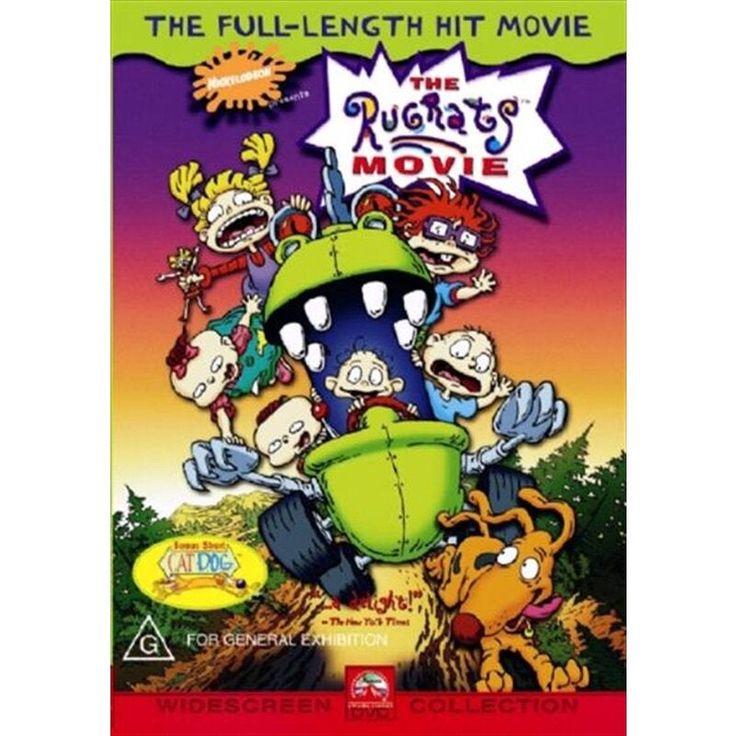The Rugrats Movie Dvd In 2021 The Rugrats Movie Rugrats Full Movies