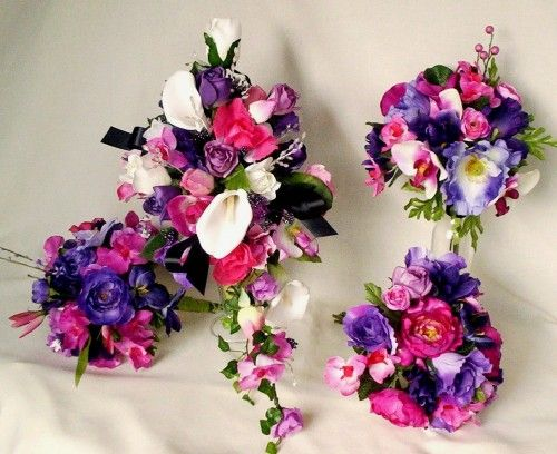 17 best purple fushia images on pinterest wedding bouquets fuscia and purple wedding receptions mightylinksfo