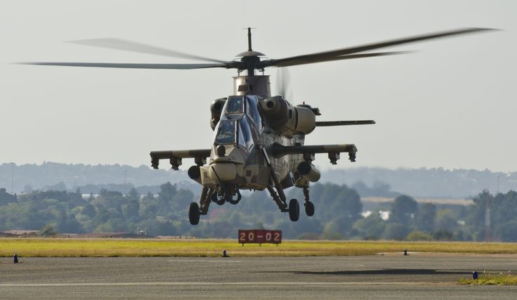 South African Air Force Rooivalk attack helicopter