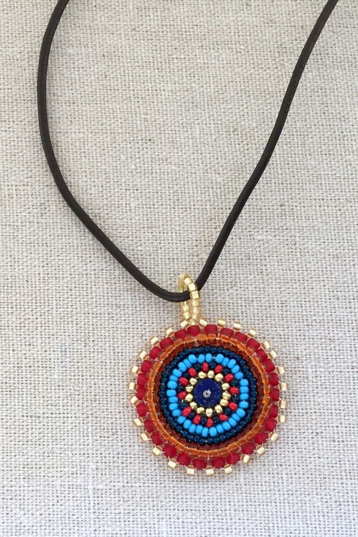 Free tutorial: get started with bead embroidery - materials, how to stitch, etc.