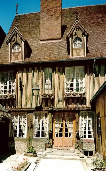 Manoir de L'Engagiste du Domaine de la Couronne at Bernay, Eure, Upper Normandy, France