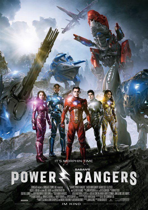 NEW!!! Poster from Power Rangers.