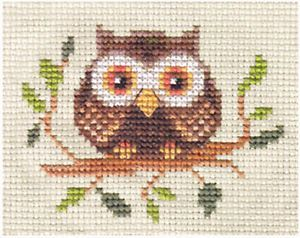 owl cross stitch - Google Search