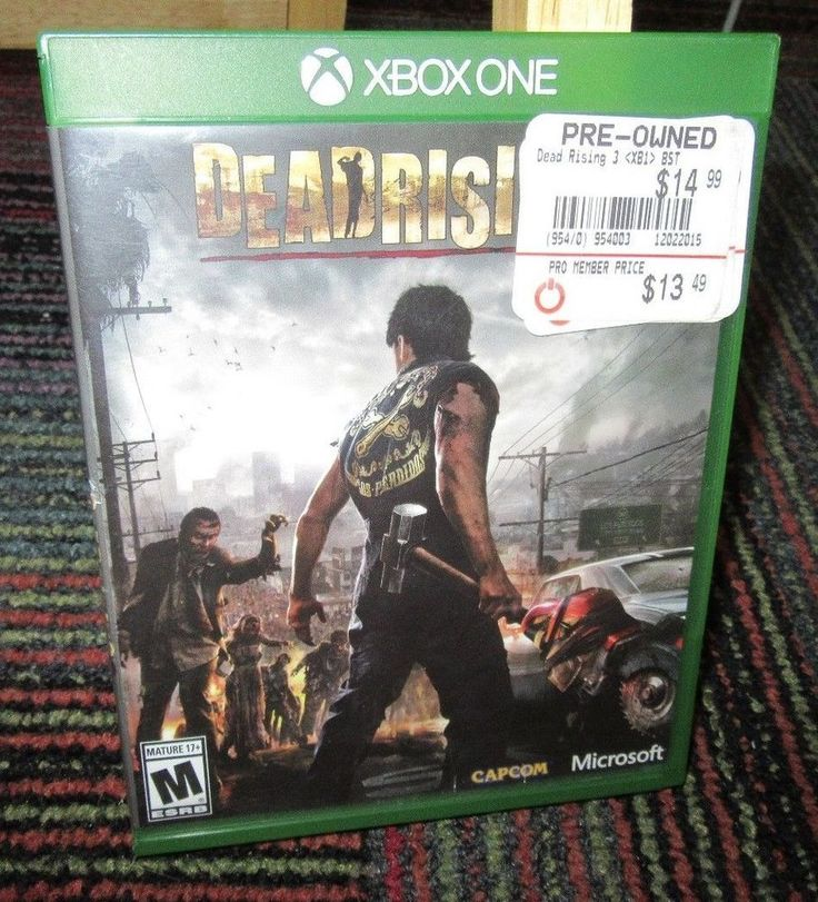 DEAD RISING 3 GAME F/ MICROSOFT XBOX ONE, CASE & GAME
