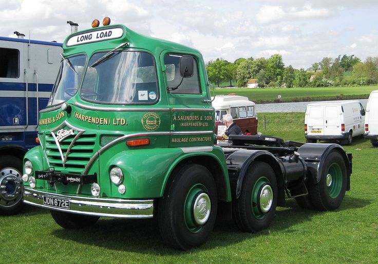 Foden heavy truck unit with Gardner 150 engine - Edwin Foden, Sons & Co. - Wikipedia