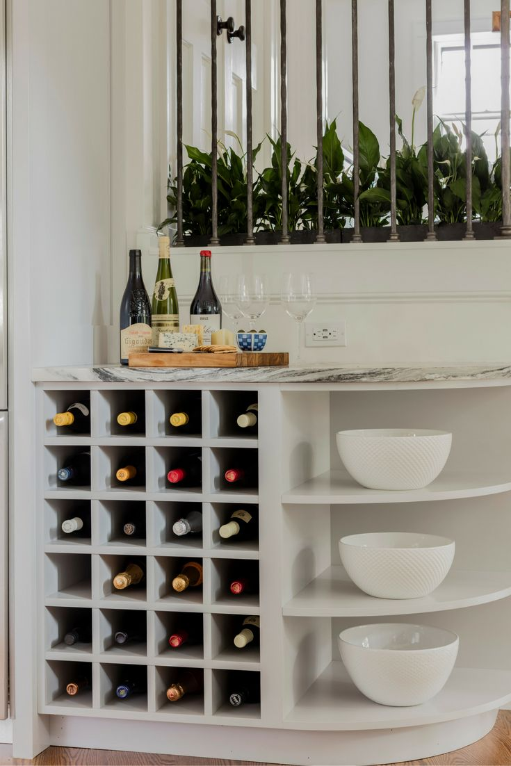48 best brackets and corbels images on pinterest shelf brackets our client wanted a special place to store wine in her newly remodeled modern white shaker