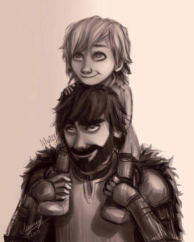 Hipo Y Su Hijo How Train Your Dragon How To Train Your Dragon How To Train Dragon