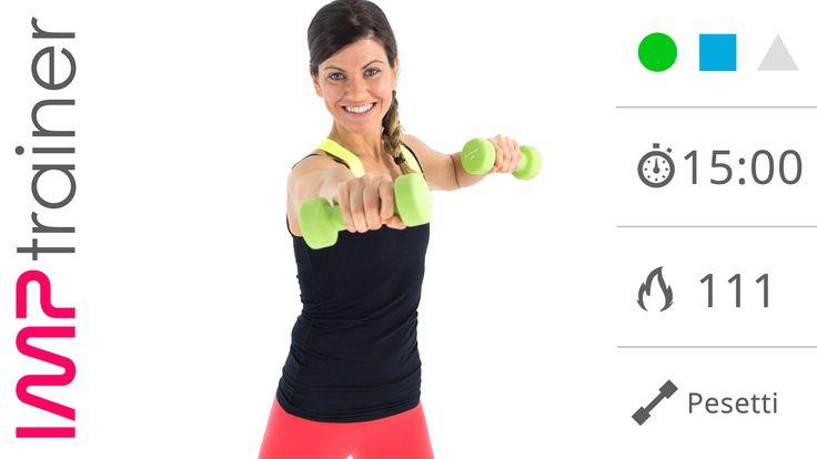 Esercizi Per Snellire e Tonificare le Braccia (allenamento completo)