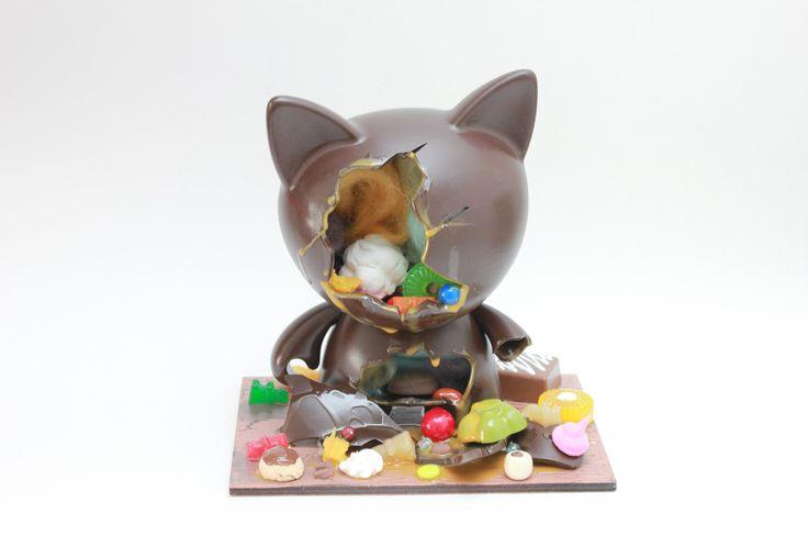 "Zard Apuya Custom 7"" Trikky - Candy Crack Dark Chocolate Cat"