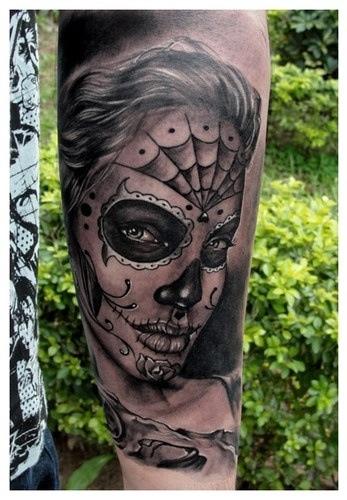 Tattoo la catrina
