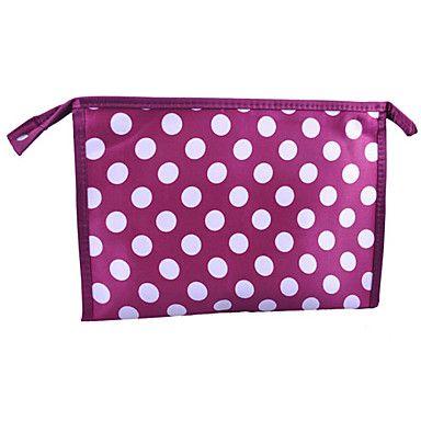 High Quality Classics Wave Point Cosmetic Bag 28*8*20cm Random Color